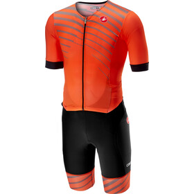 Castelli Free Sanremo SS Suit Herren orange
